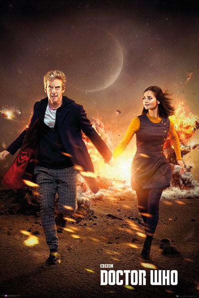 Doctor Who - Run Plakat