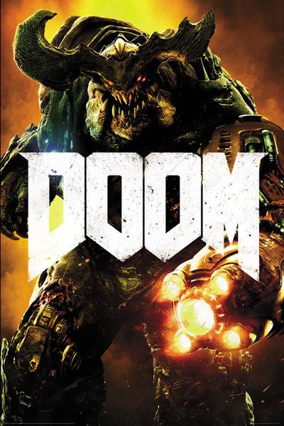 Doom - Cyber Demon Plakat