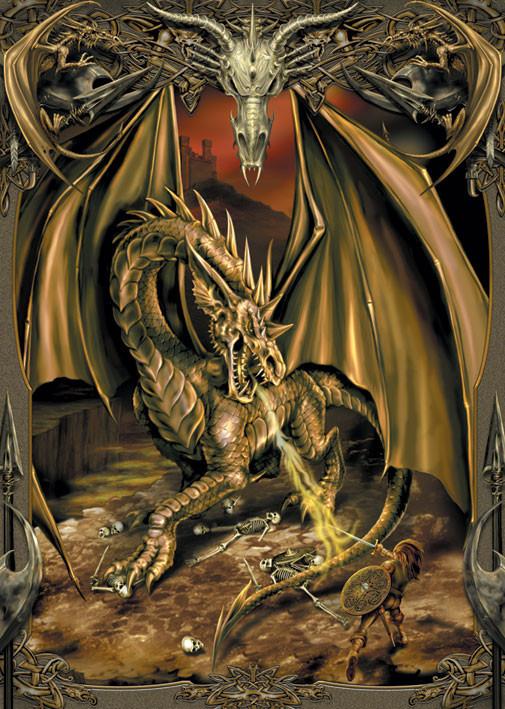 Dragon slayer Plakat
