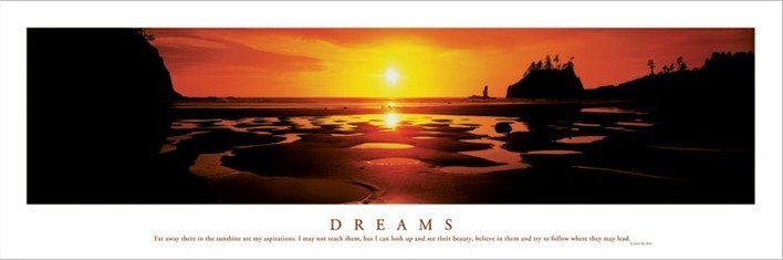 Dreams - Sunset Plakat