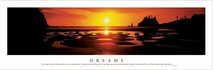 Dreams - Sunset Plakat