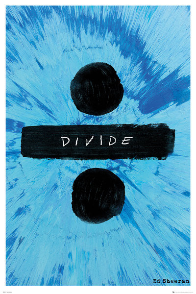 Ed Sheeran - Divide Plakat