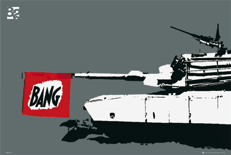 Eighty two tank Plakat
