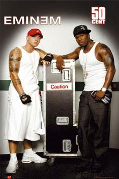 Eminem & 50 Cent Plakat