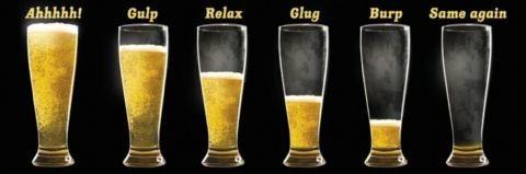 Enjoy your beer Plakat