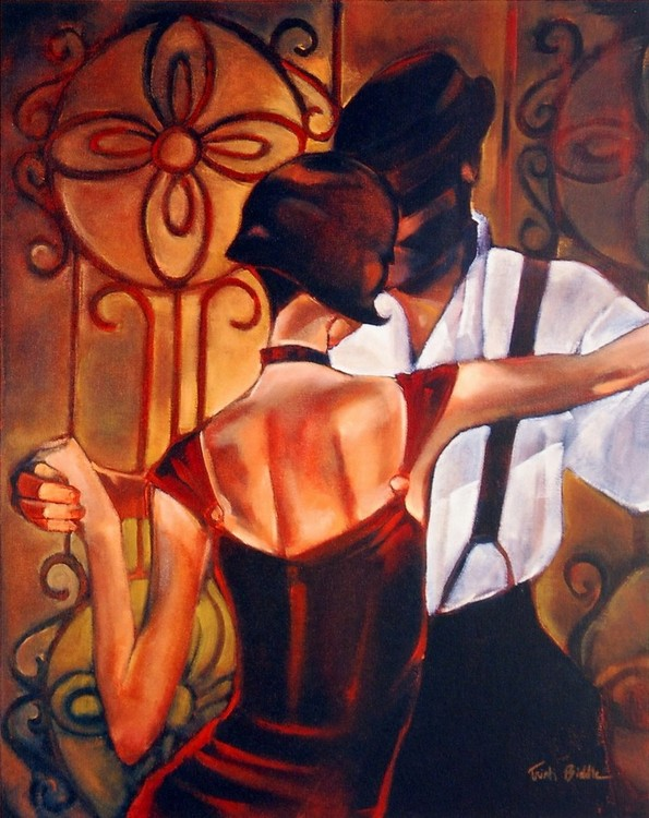 Evening Tango Kunsttryk