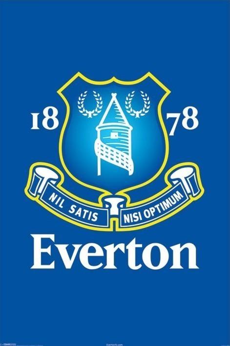 Everton - crest Plakat