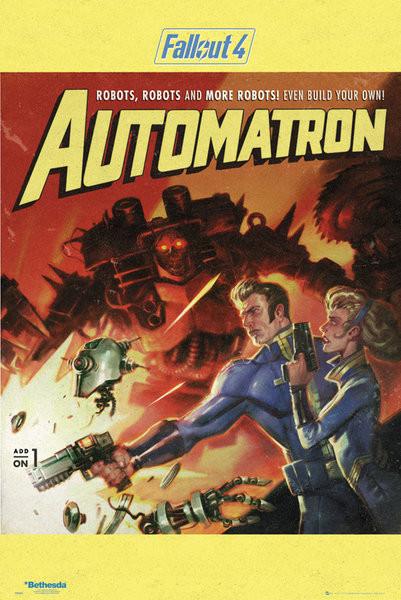 Fallout 4 - Automatron Plakat