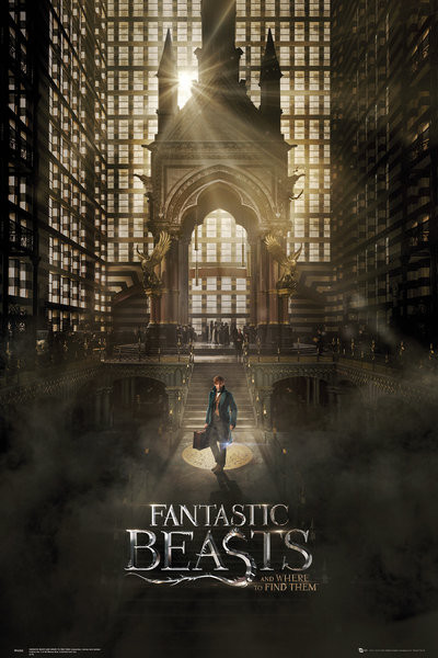 Fantastic Beasts And Where To Find Them - One Sheet 1 Plakat
