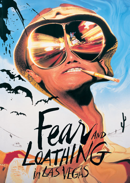 FEAR & LOATHING IN  LAS VEGAS Plakat