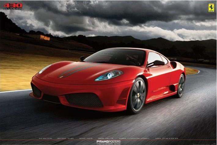 Ferrari - 430 scuderia Plakat