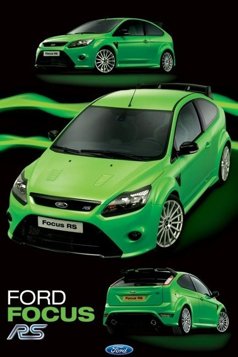 Ford Focus RS Plakat