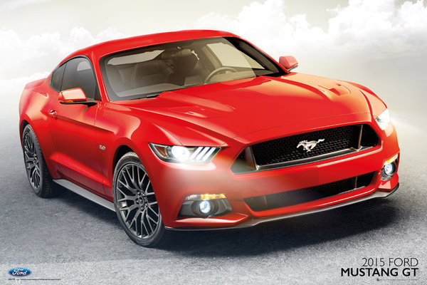Ford - Mustang GT 2017 Plakat