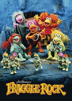 FRAGGLE ROCK Plakat