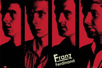 Franz Ferdinand - band Plakat
