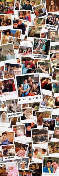 FRIENDS - polaroids Plakat