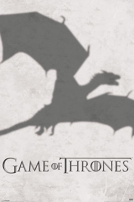 GAME OF THRONES 3 - shadow Plakat