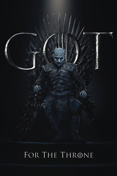 Game Of Thrones - Night King For The Throne Plakat