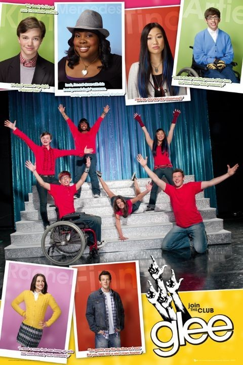 GLEE - compilation Plakat