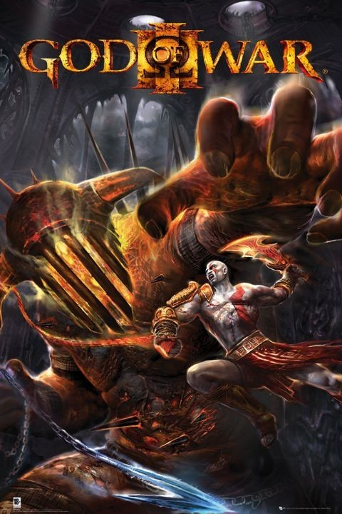 GOD OF WAR 3 - hades Plakat