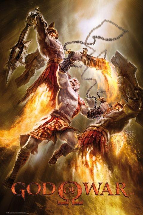 God of war - hyperion guards  Plakat