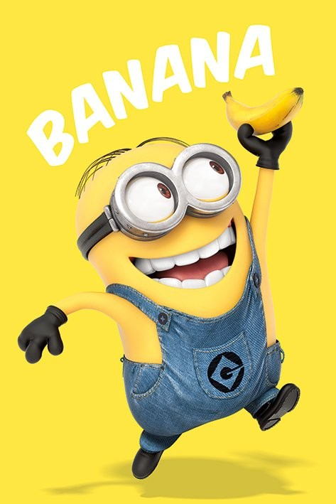 Grusomme mig - Despicable Me - Banana Plakat