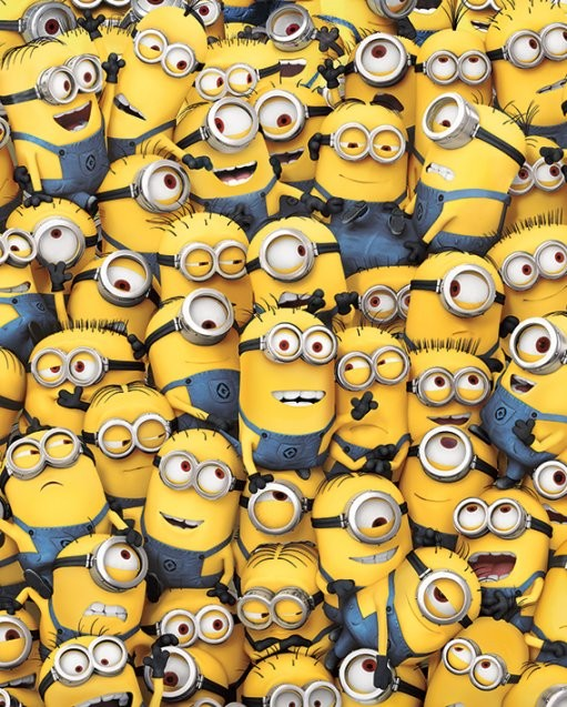 Grusomme mig - Despicable Me - Many Minions Plakat