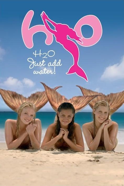 H2O - Mermaids Plakat