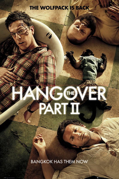 HANGOVER II - one sheet Plakat