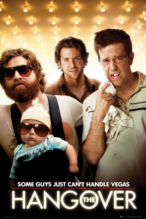 HANGOVER - one sheet Plakat