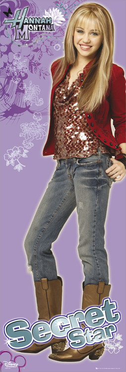 HANNAH MONTANA - secret star Plakat