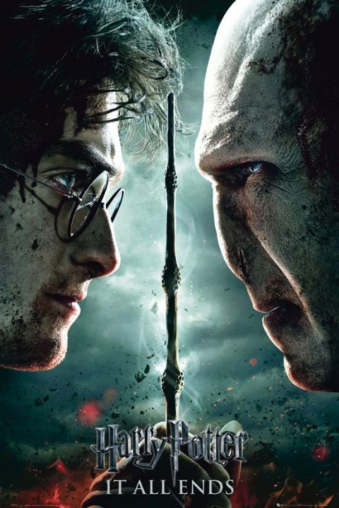 HARRY POTTER 7 - part 2 teaser Plakat