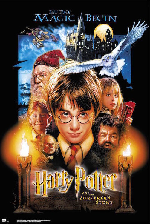 Harry Potter And The Sorcerers Stone Plakat