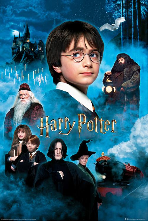 Plakat Harry Potter - De vises stein
