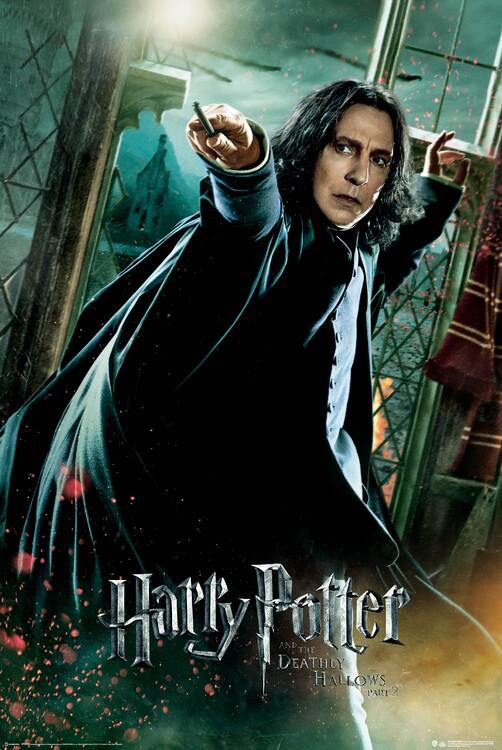 Plakat Harry Potter - Dødsregalierne - Snape