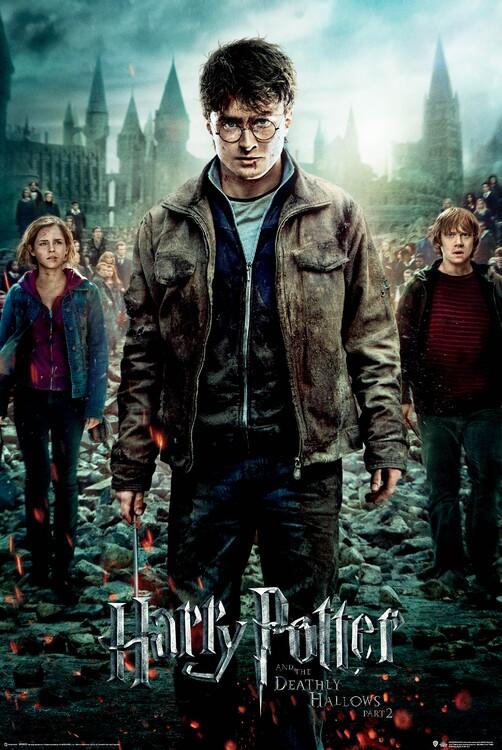 Plakat Harry Potter - Dødstalismanene
