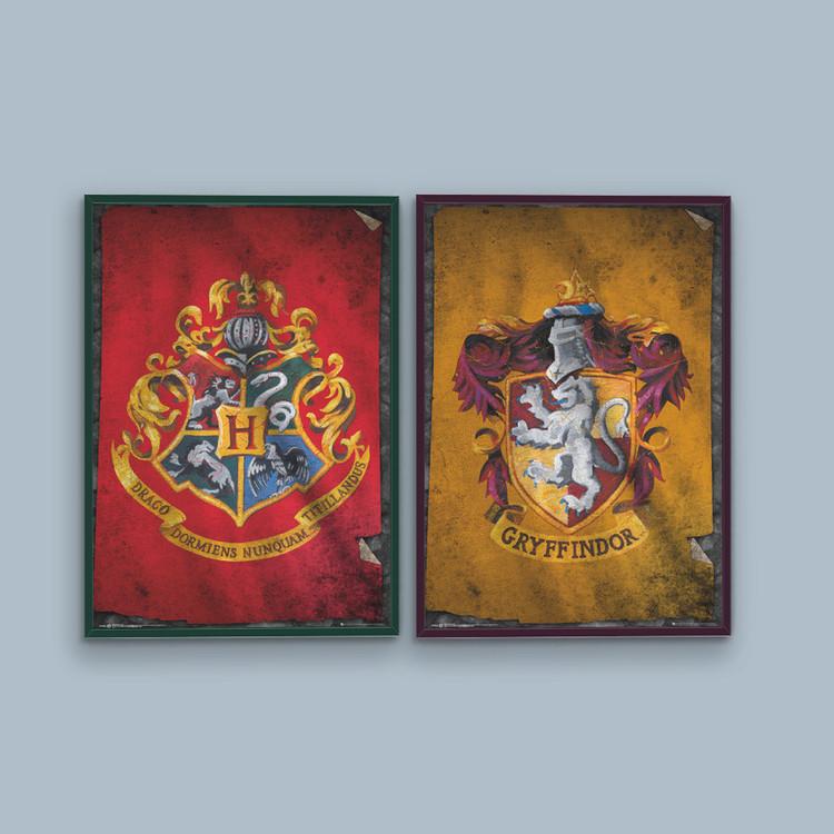 Harry Potter - Gryffindor Crest Plakat