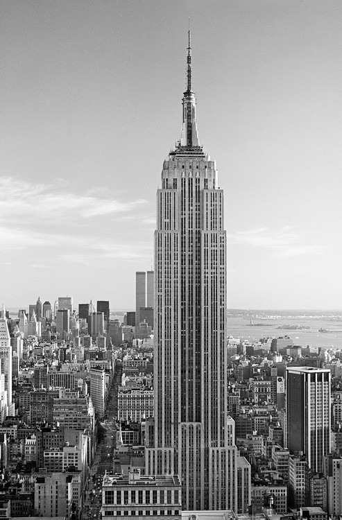 HENRI SILBERMAN - empire state building Plakat