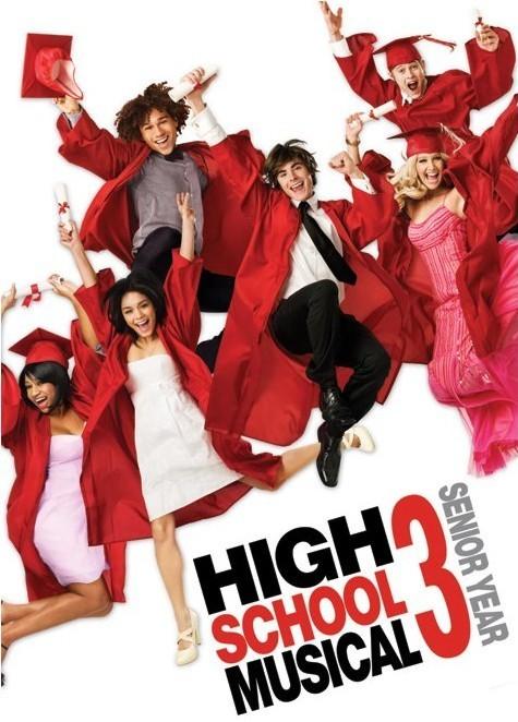 HIGH SCHOOL MUSICAL 3 - graduation jump Plakat