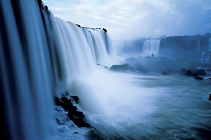 Iguaca falls - brazil Plakat