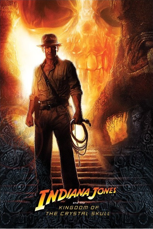 INDIANA JONES - kindom of the crystal skull teaser Plakat