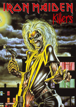 Iron Maiden - Killers Plakat