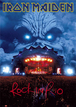 Iron Maiden - Rock in Rio Plakat