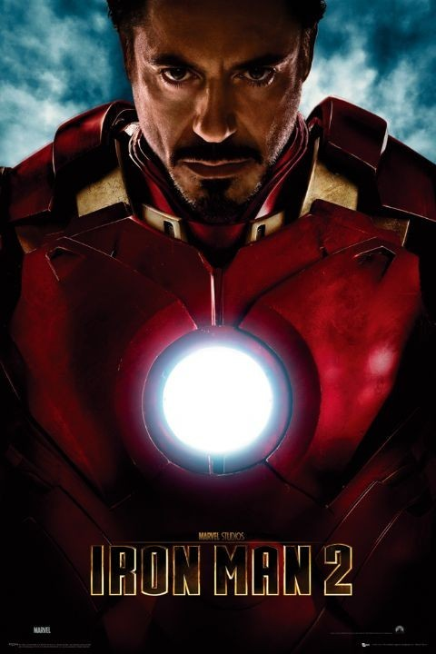 IRON MAN 2 - tony stark Plakat
