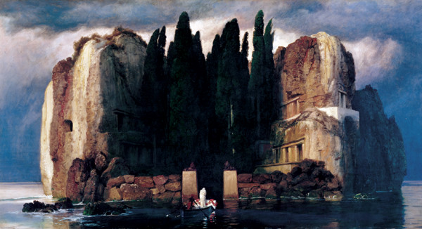 Isle of the Dead (Fifth version), 1886 Kunsttryk