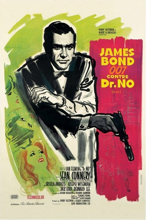 JAMES BOND 007 - dr no Plakat
