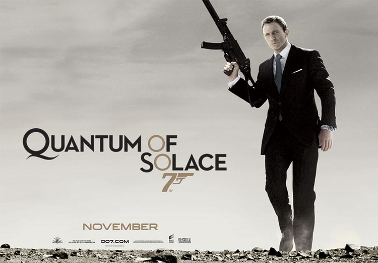 JAMES BOND 007 - quantum of solace  Plakat