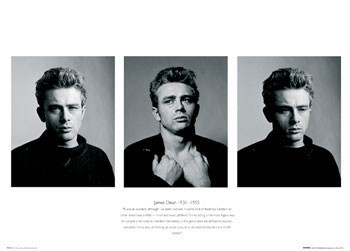 James Dean - Trio Plakat