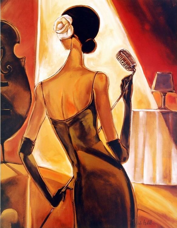 Jazz Samba Kunsttryk