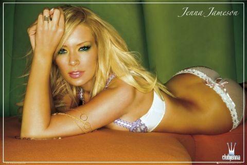 Jenna Jameson - underwear Plakat